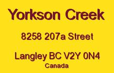 Yorkson Creek 8258 207A V2Y 0N4