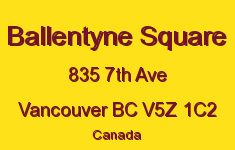Ballentyne Square 835 7TH V5Z 1C2