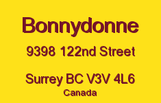 Bonnydonne 9398 122ND V3V 4L6