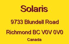 Solaris 9733 BLUNDELL V0V 0V0