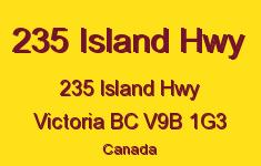 235 Island Hwy 235 Island V9B 1G3