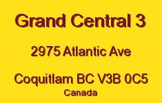 Grand Central 3 2975 ATLANTIC V3B 0C5