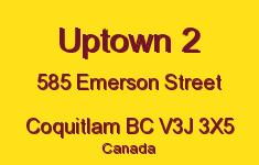 Uptown 2 585 EMERSON V3J 3X5