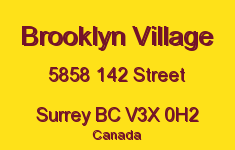 Brooklyn Village 5858 142 V3X 0H2