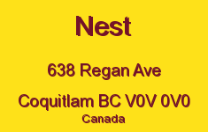 Nest 638 REGAN V0V 0V0