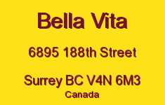 Bella Vita 6895 188TH V4N 6M3