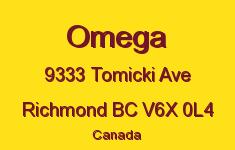 Omega 9333 TOMICKI V6X 1C9