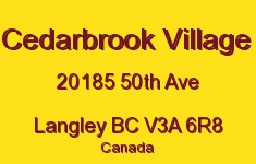 Cedarbrook Village 20185 50TH V3A 6R8