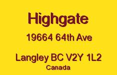 Highgate 19664 64TH V2Y 1L2