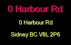 0 Harbour Rd 0 Harbour V8L 2P6