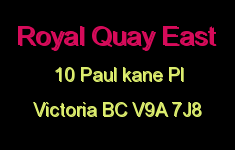 Royal Quay East 10 Paul Kane V9A 7J8