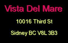 Vista Del Mare 10016 Third V8L 3B3