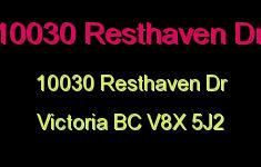 10030 Resthaven Dr 10030 Resthaven V8X 5J2