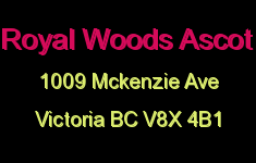 Royal Woods Ascot 1009 McKenzie V8X 4B1
