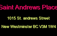 Saint Andrews Place 1015 ST. ANDREWS V3M 1W4