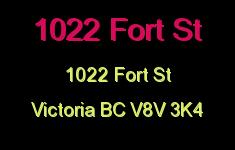 1022 Fort St 1022 Fort V8V 3K4