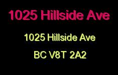 1025 Hillside 1025 Hillside V8T 2A2