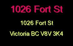 1026 Fort 1026 Fort V8V 3K4