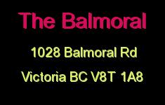 The Balmoral 1028 Balmoral V8T 1A8