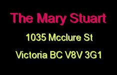 The Mary Stuart 1035 McClure V8V 3G1