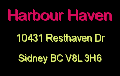 Harbour Haven 10431 Resthaven V8L 3H6