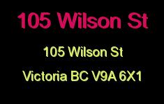 105 Wilson St 105 Wilson V9A 6X1