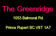 The Greenridge 1053 Balmoral V8T 1A7