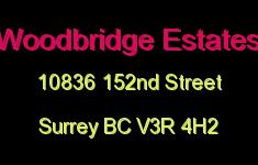 Woodbridge Estates 10836 152ND V3R 4H2