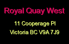 Royal Quay West 11 Cooperage V9A 7J9