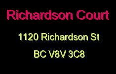 Richardson Court 1120 Richardson V8V 3C8