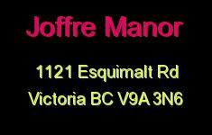 Joffre Manor 1121 Esquimalt V9A 3N6