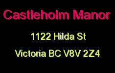 Castleholm Manor 1122 Hilda V8V 2Z4