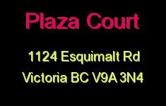 Plaza Court 1124 Esquimalt V9A 3N4