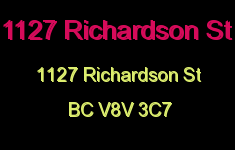 1127 Richardson St 1127 Richardson V8V 3C7