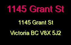 1145 Grant St 1145 Grant V8X 5J2