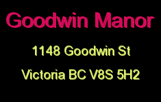 Goodwin Manor 1148 Goodwin V8S 5H2