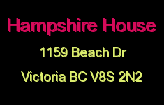 Hampshire House 1159 Beach V8S 2N2