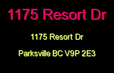 1175 Resort Dr 1175 Resort V9P 2E3