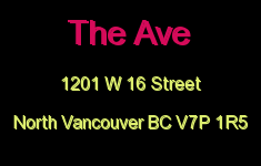 The Ave 1201 W 16 V7P 1R5