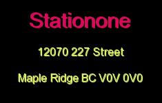 Stationone 12070 227 V0V 0V0