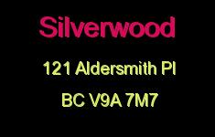 Silverwood 121 Aldersmith V9A 7M7