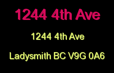 1244 4th Ave 1244 4th V9G 0A6