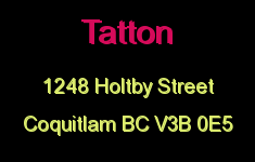 Tatton 1248 HOLTBY V3B 0E5