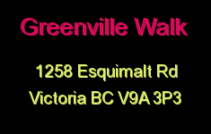 Greenville Walk 1258 Esquimalt V9A 3P3