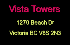 Vista Towers 1270 Beach V8S 2N3