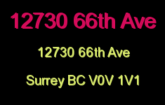 12730 66th Ave 12730 66TH V0V 1V1