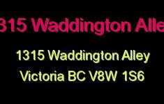 1315 Waddington 1315 Waddington V8W 0B2