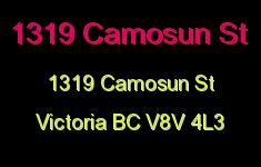 1319 Camosun St 1319 Camosun V8V 4L3