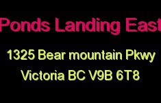 Ponds Landing East 1325 Bear Mountain V9B 6T8
