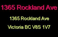 1365 Rockland Ave 1365 Rockland V8S 1V7